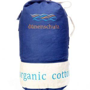 Dünenschutz - Produkt - Seesack blau