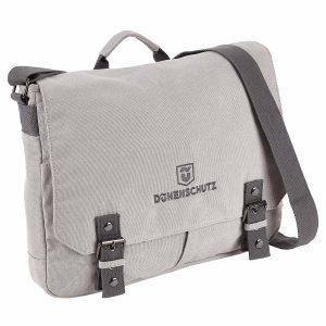 Dünenschutz - Produkt - Schultertasche Office - vorne - light grey