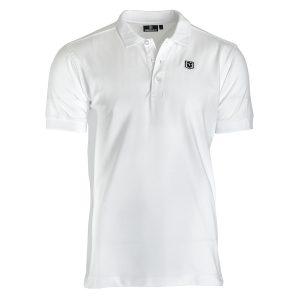 Dünenschutz - Produkt - Herren - Polo Shirt Stretch'n Soft - weiss - vorne
