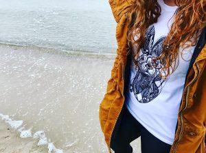Dünenschutz - T-Shirt Strandhase - Sylt