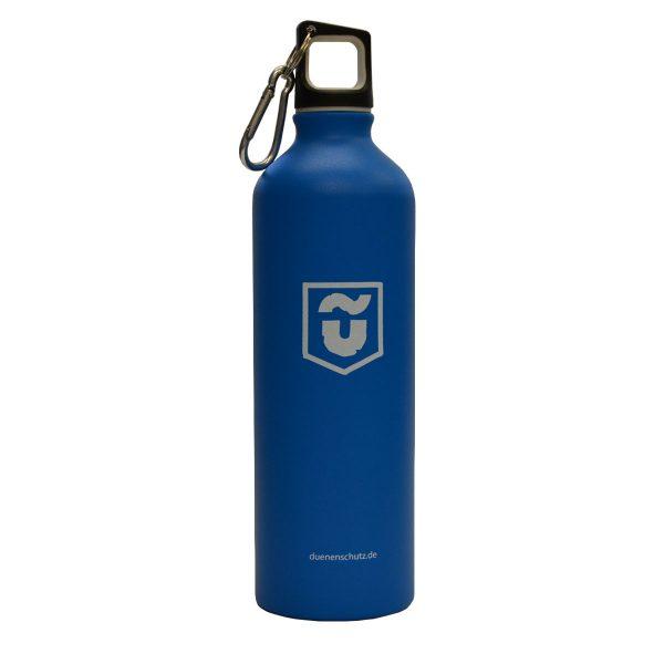 Dünenschutz - Trinkflasche - Blau