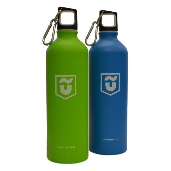 Dünenschutz - Trinkflasche - Grün - Blau