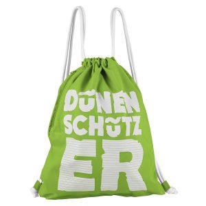 Dünenschutz - Turnbeutel - Dünenschützer - Grün